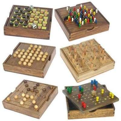 Juegos Clásicos de madera Carla