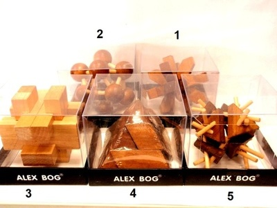 Rompecabezas de madera Alex Bog