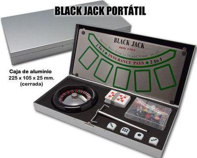 Juego Black Jack portátil