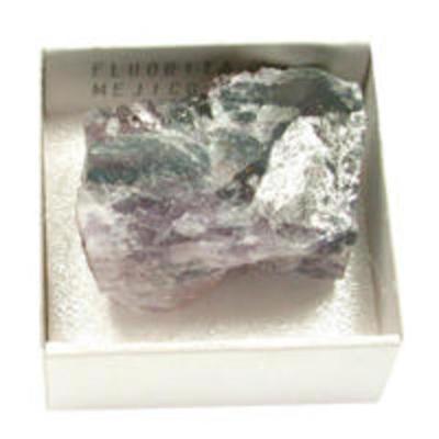 Fluorita en bruto