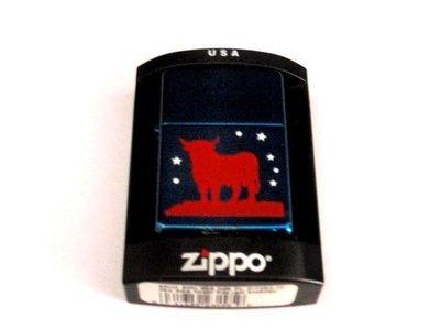 Zippo Toro azul