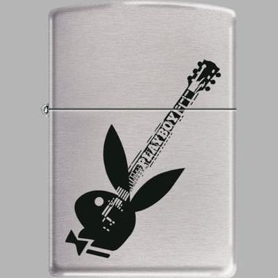 Zippo Playboy Guitar Rabbit