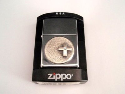Zippo Cruz strass