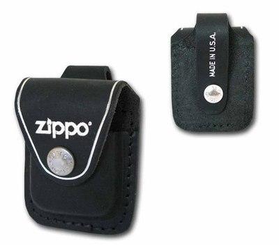Funda para Zippo piel con botón
