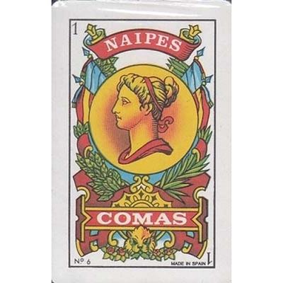 Baraja española Comas 40 cartas