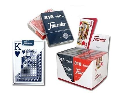 Baraja Fournier poker 818 con 55 cartas