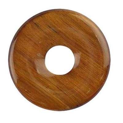 Colgante Donut Ojo de Tigre 40mm