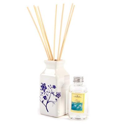 Difusor de aromas vaso cerámico azul 75ml