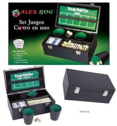 Set Multijuegos Alex Bog caja de luxe